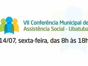 VII Conferência de Assistência Social de Ubatuba acontece no próximo dia 14
