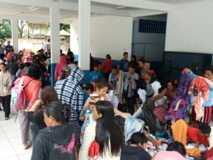 Mutirão de distribuição de doações da Campanha do Agasalho acontece na Maranduba