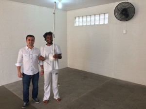 Fundac oferece aulas gratuitas de capoeira
