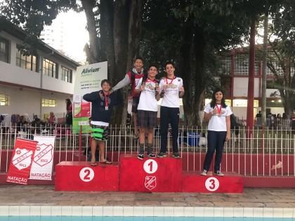 Ubatuba conquista bons resultados em competição regional de natação