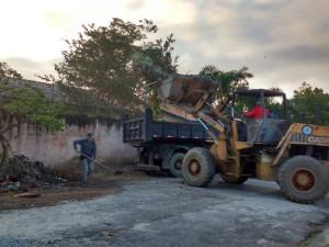 Regiões de Ubatuba recebem serviços de manutenção