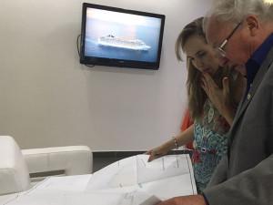 Secretário de Turismo de Ubatuba acerta detalhes sobre receptivo de navios