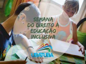 Ubatuba tem Semana do Direito à Educação Inclusiva