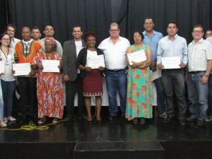 Membros do Conselho de Comunidades Quilombolas de Ubatuba tomam posse