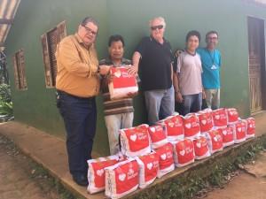 Alimentos arrecadados em competição beneficiam aldeias indígenas de Ubatuba