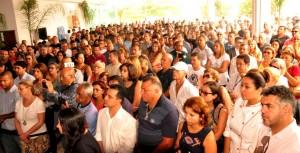 Grande público presente ao evento