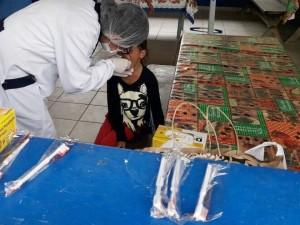 Secretarias de Saúde e Educação promovem iniciativa conjunta na Semana da Criança