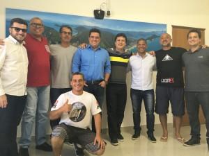 Ubatuba e São Sebastião se reúnem para discutir sobre etapas do Brasileiro de Surf 2018