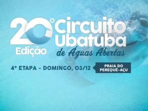 Última etapa do Circuito Ubatuba de Águas Abertas acontece domingo
