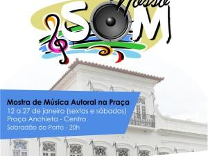 Música autoral é tema de mostra organizada pela Fundart Ubatuba