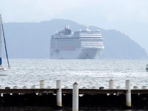 Prefeitura alerta: interdição parcial no Itaguá para o receptivo de cruzeiros