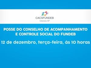 Conselho de Acompanhamento e Controle Social do Fundeb será empossado na terça-feira