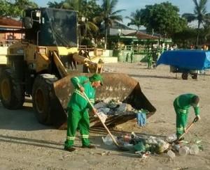 Limpeza praias _sanepav