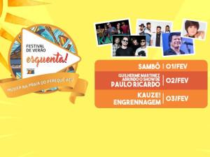 Grupo Sambô abre Festival de Verão Ubatuba 2018 Esquenta