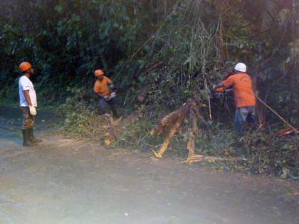 Defesa Civil de Ubatuba em estado de alerta