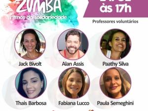 Fundo Social de Solidariedade promove mais um Aulão de Zumba