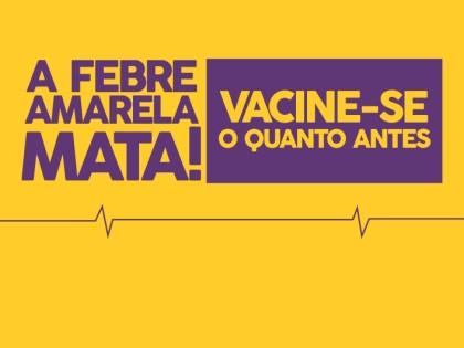 Campanha de vacinação contra a febre amarela continua em Ubatuba