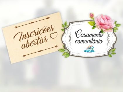 Ubatuba recebe inscrições para o casamento comunitário 2018