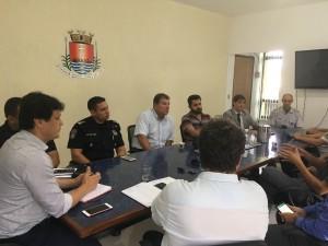 Conseg se reúne com prefeito de Ubatuba