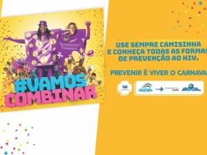 Prevenção à HIV/Aids e sífilis é foco de ações da Saúde durante o Carnaval