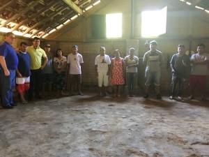 Prefeito Sato visita aldeia indígena Boa Vista