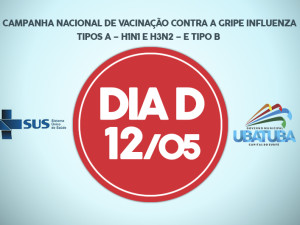 Sábado, 12, é dia D de vacinação contra a gripe Influenza em Ubatuba