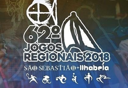 293 atletas representam Ubatuba nos 62º Jogos Regionais