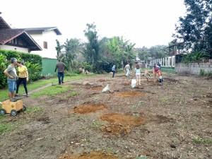 Secretaria de Meio Ambiente realiza plantio de mudas na Ressaca