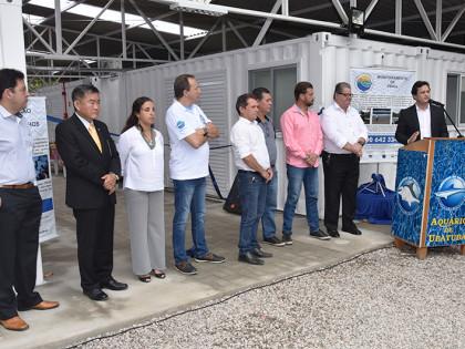 Prefeito participa de entrega de centro de reabilitação de animais marinhos