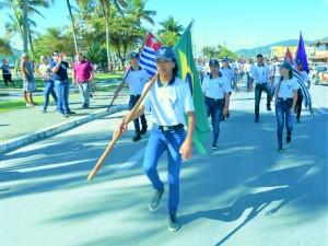 Ubatuba celebra Dia da Independência com ato cívico