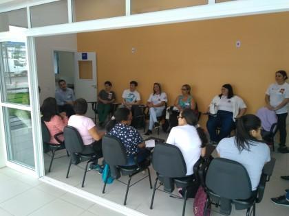 Equipes ESF das unidades de saúde a serem inauguradas recebem capacitação