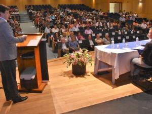 Prefeito de Ubatuba participa da abertura do 39º Congresso da Acopesp