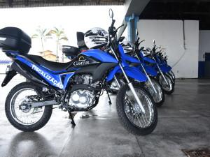 Comtur de Ubatuba adquire motos novas e equipamentos de EPI