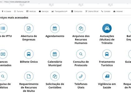 Ubatuba ganha ferramenta de consulta online sobre autuações no município