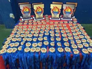 Educação de Ubatuba divulga campeões de Torneio de Queimada 2018