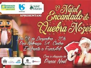 """""""O Natal Encantado do Quebra Nozes"""" traz a magia da festividade para Ubatuba"""