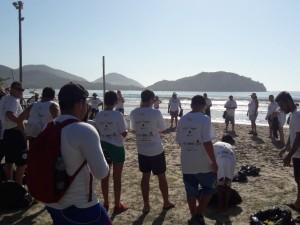 Verão no Clima: mutirão recolhe mais de 130 kg de resíduos