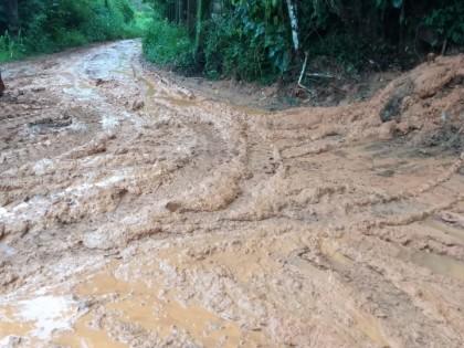 Acumulados de chuva em Ubatuba ultrapassam os 100 mm