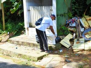 Mutirão de combate à dengue acontece no bairro Estufa II