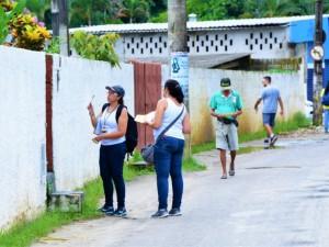 Mutirão no Perequê-Mirim vistoria mais de 1.400 imóveis