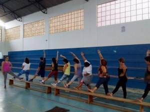 Grupos de pilates têm início na região Sul de Ubatuba