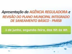 Plano de Saneamento Básico e Agência Reguladora são tema de audiência pública