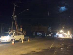 Prefeitura regulariza manutenção de iluminação pública