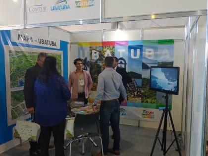 Presença de Ubatuba no Conexidades 2019 divulga cidade como destino turístico