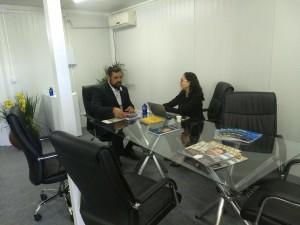 Secretario de Turismo em tratativas com MIn Tur