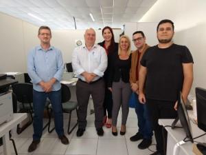 Prefeitura de Ubatuba recebe representantes da Controladoria Geral de Guarulhos