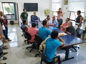Prefeitura recebe representantes dos pescadores para ouvir reivindicações