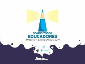 """""""Somos todos Educadores"""" é tema da XXI Semana da Educação de Ubatuba"""