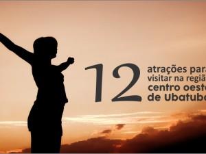 12 atrações para visitar na região centro-oeste de Ubatuba