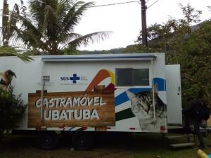 Castramóvel de Ubatuba inicia castrações na Vila Rolim